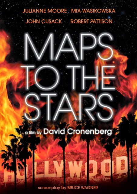 Póster y tráiler para adultos de 'Maps to the stars', de David Cronenberg