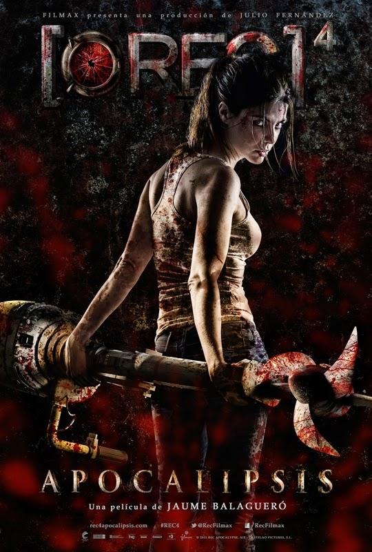 Escalofriante primer tráiler de '[REC] 4: Apocalipsis' junto a su póster oficial