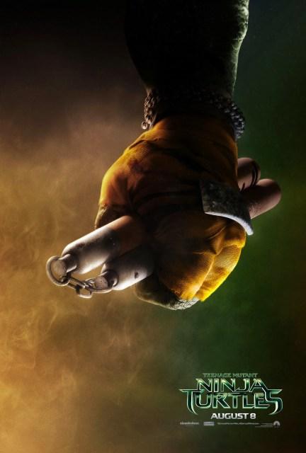 Los cuatro teasers pósters de los protagonistas de 'Ninja Turtles'