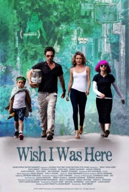 Tráiler de la nueva película de Zach Braff 'Wish I was here'