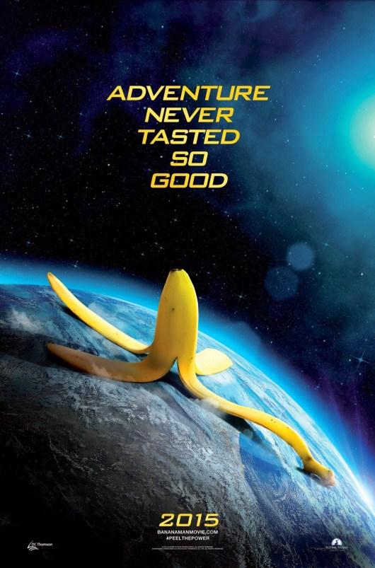 Primer póster de adelanto de 'Bananaman'