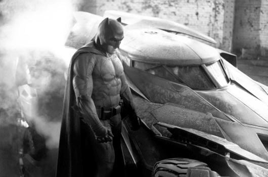 La primera imagen de Batman en el rodaje de 'Batman vs. Superman'