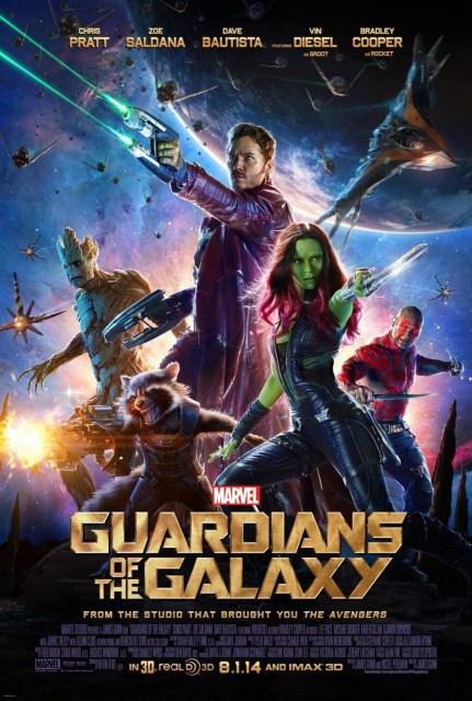 Téaser tráiler y nuevo póster de 'Guardianes de la galaxia'
