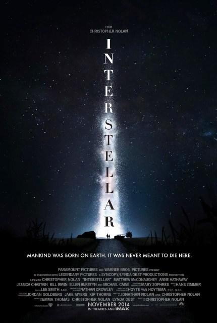 Téaser póster de 'Interstellar', lo nuevo de Christopher Nolan
