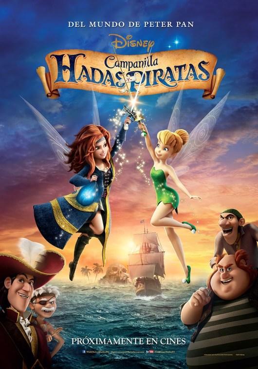 Este viernes Disney estrena en cines 'Campanilla. Hadas y piratas'