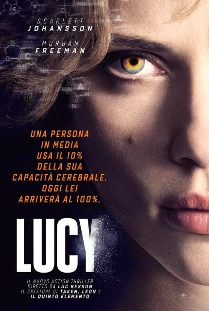 Nuevo póster y anuncio de 'Lucy', con Scarlett Johansson al 100%