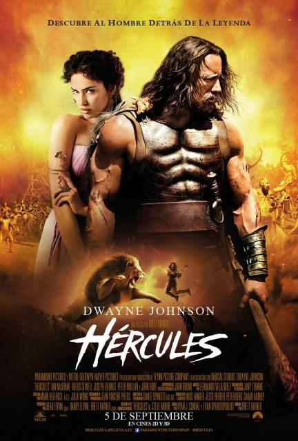 El nuevo póster de 'Hércules' cuenta con una frase poco acertada...