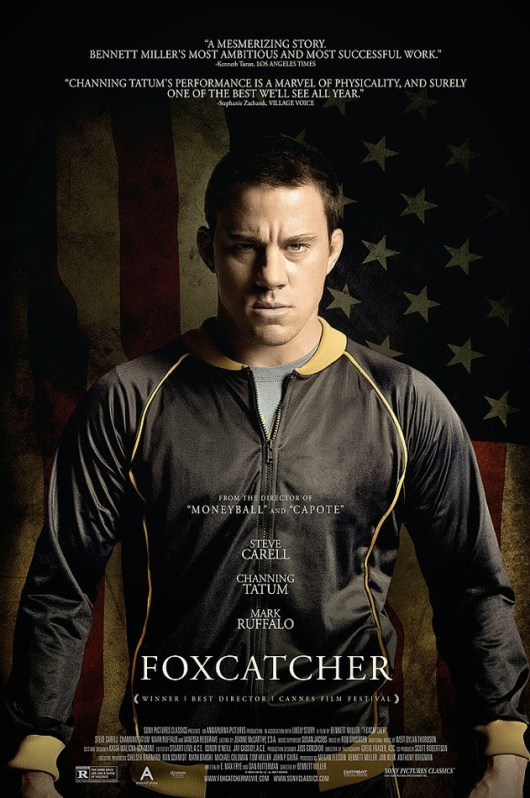 Channing Tatum protagoniza el póster de 'Foxcatcher'