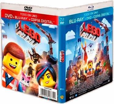 """A la venta 'La LEGO Película' en edición """"Todo en uno (Blu-ray+DVD+Copia digital)'"""