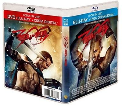 A la venta '300: El origen de un imperio' en DVD, Blu-ray, Blu-ray 3D y edición metálica