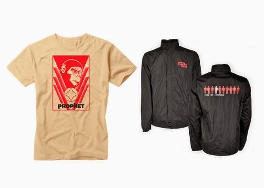 Concurso 'El amanecer del planeta de los simios': Tenemos camisetas y chaquetas de la película