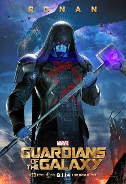 Los villanos de 'Guardianes de la galaxia' ya tienen sus propios posters