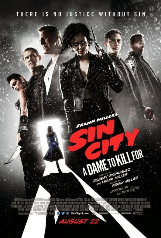 Nuevo póster de 'Sin city: Una dama por la que matar'