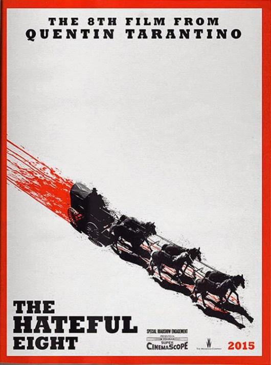 Ya está aquí el primer póster de 'The Hateful Eight' de Quentin Tarantino