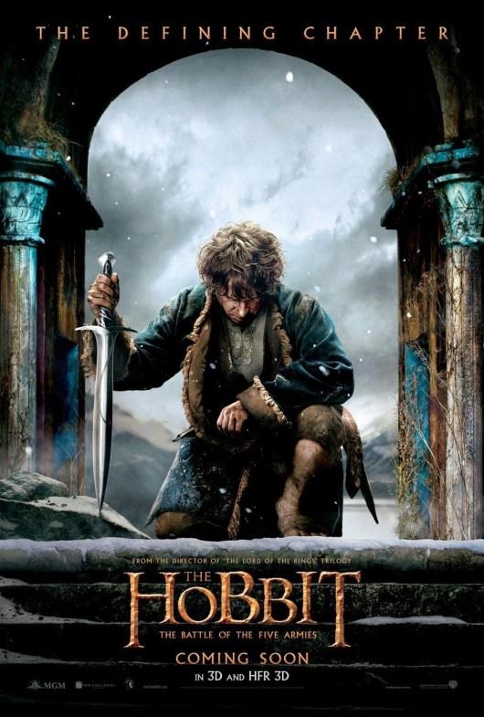 Bilbo acapara el nuevo póster de 'El Hobbit: La batalla de los cinco ejércitos'