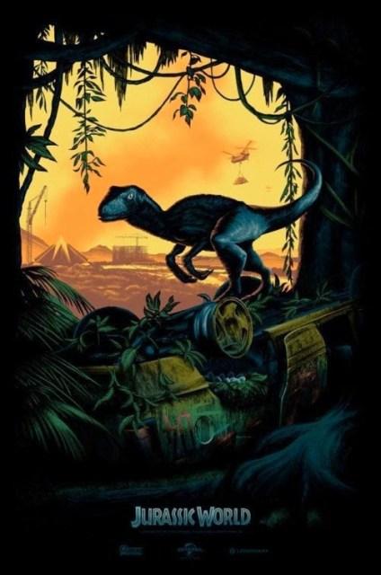 Revelado el póster de edición limitada de 'Jurassic World' de la Comic-Con