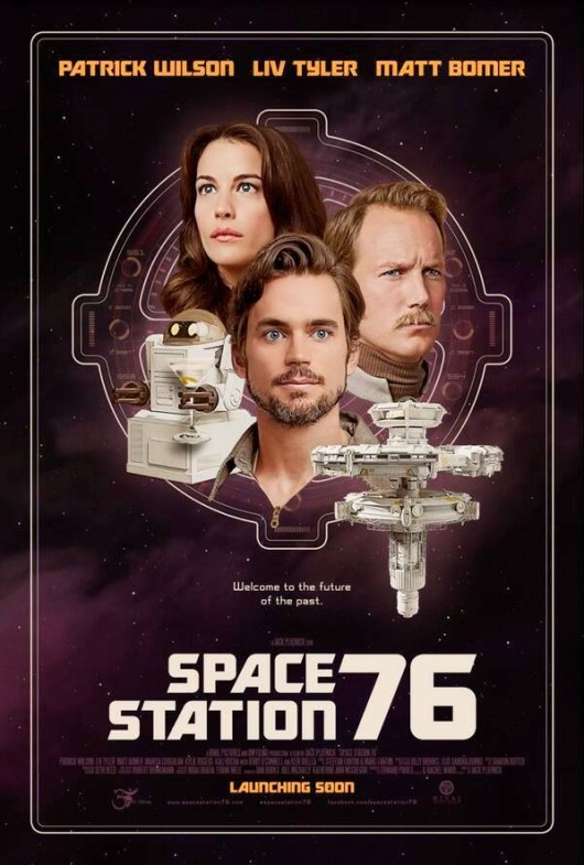 Nuevo póster, primera imagen y tráiler de 'Space station 76'