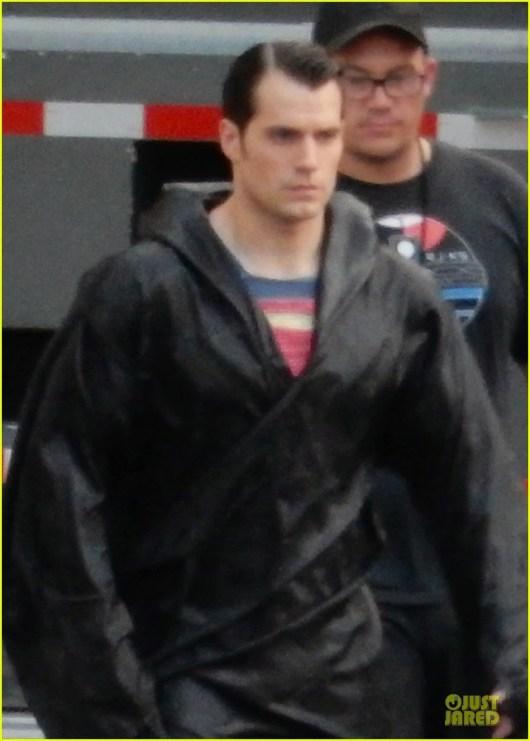 Primeras fotos de Henry Cavill como Superman en el rodaje de 'Batman v Superman: Dawn of justice'