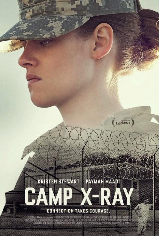 Póster y tráiler de 'Camp X-Ray' con Kristen Stewart