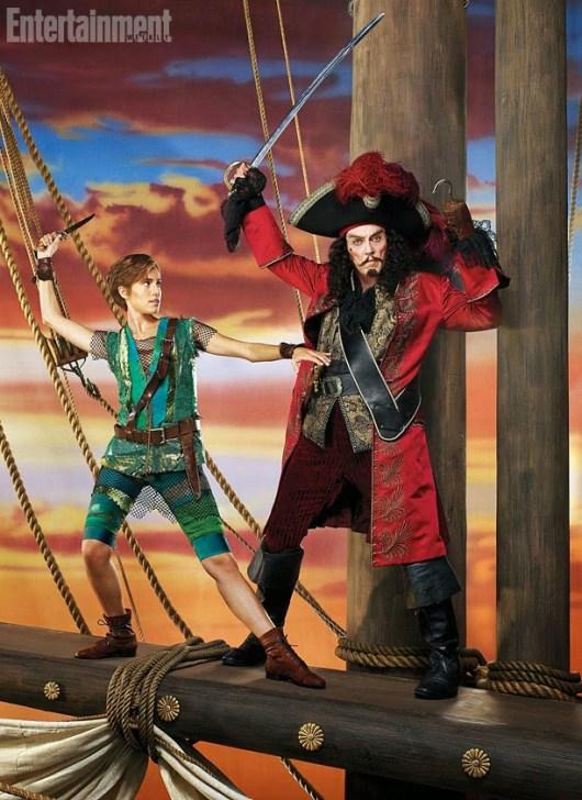 Primera foto de Christopher Walken como el Capitán Hook de 'Peter Pan Lives!'