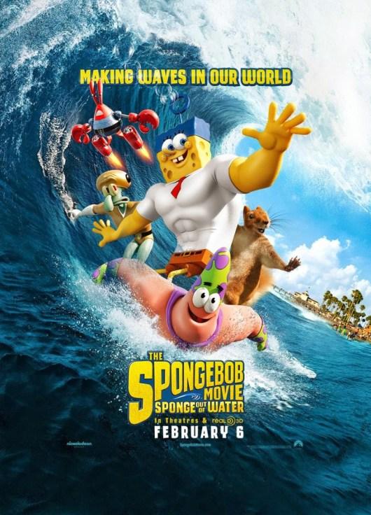 Nuevo tráiler y póster de 'Bob Esponja: un héroe fuera del agua'
