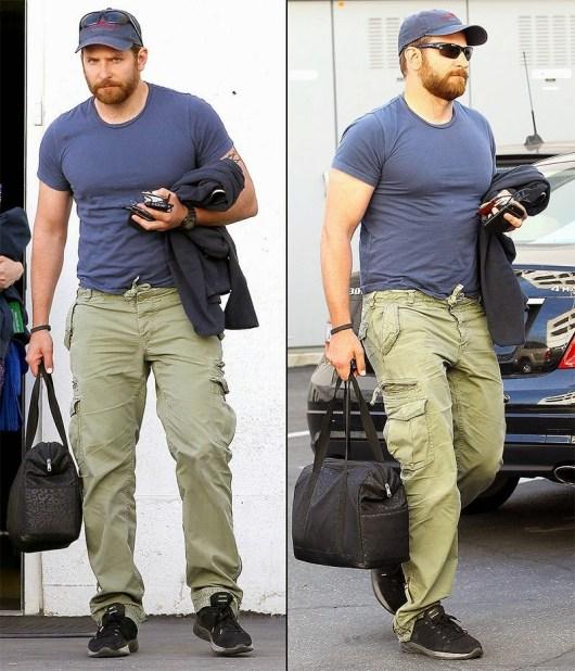 Bradley Cooper gana casi 20 kilos de músculo para 'American sniper'