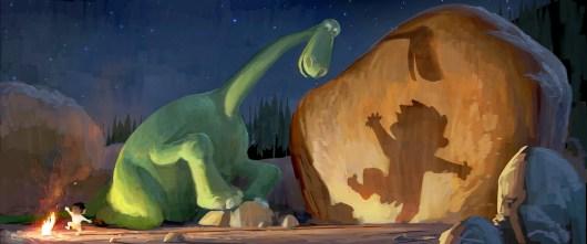 Primera imagen de 'The Good Dinosaur', lo nuevo de Disney • Pixar