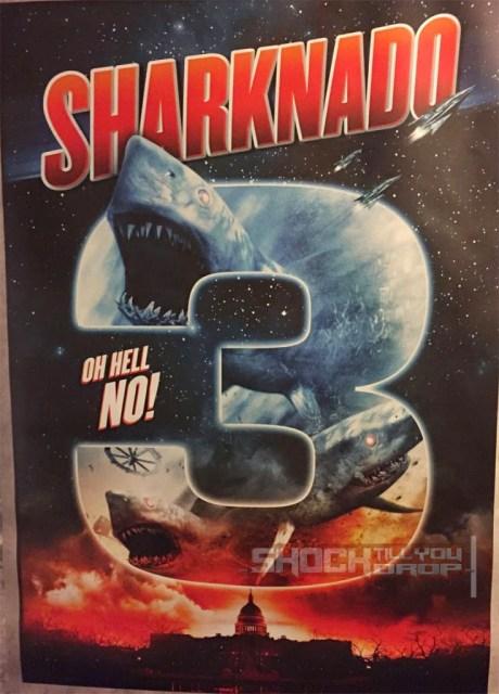 Publicado el primer póster de 'Sharknado 3'