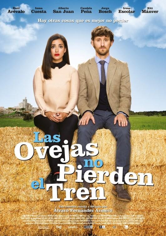 Póster final de 'Las ovejas no pierden el tren' con Inma Cuesta y Raúl Arévalo