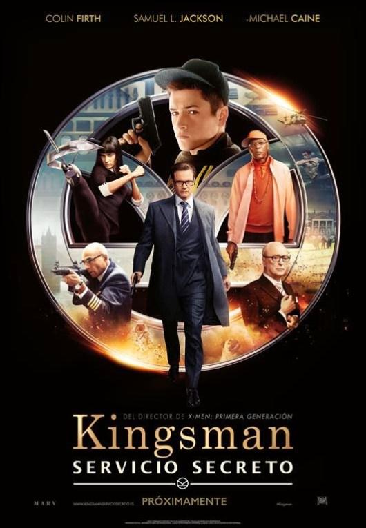 Póster y tráiler final de 'Kingsman: Servicio secreto'
