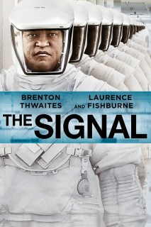 Pósters de 'The signal', con Laurence Fishburne