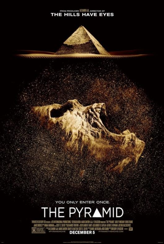 Póster y tráiler de la película de terror 'The pyramid'
