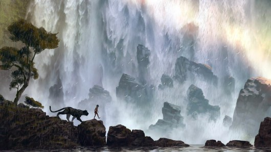 Revelado el logotipo y el primer diseño de arte conceptual de 'The jungle book'