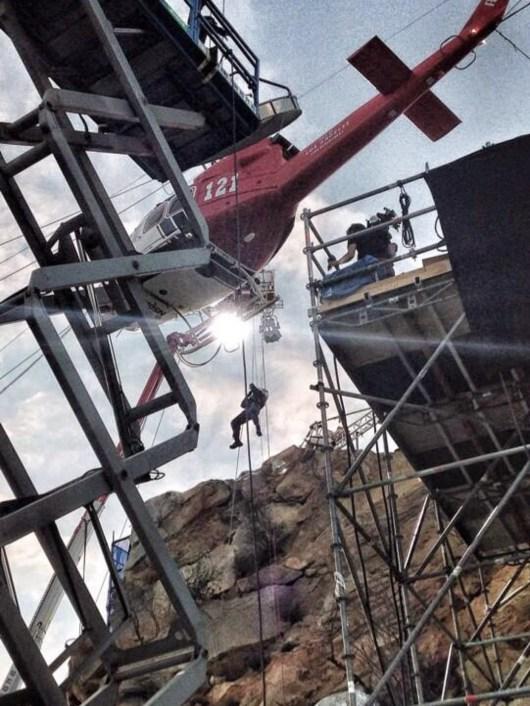 Nuevas fotos de 'San Andreas' con Dwayne Johnson