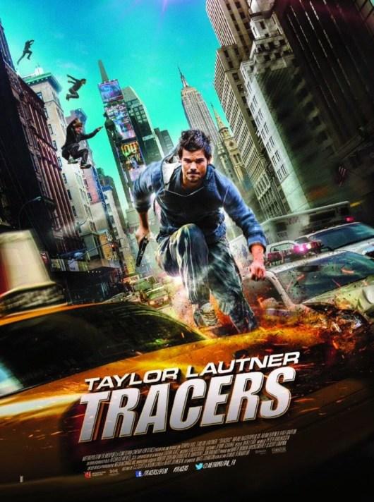 Póster y tráiler internacional de 'Tracers', con Taylor Lautner