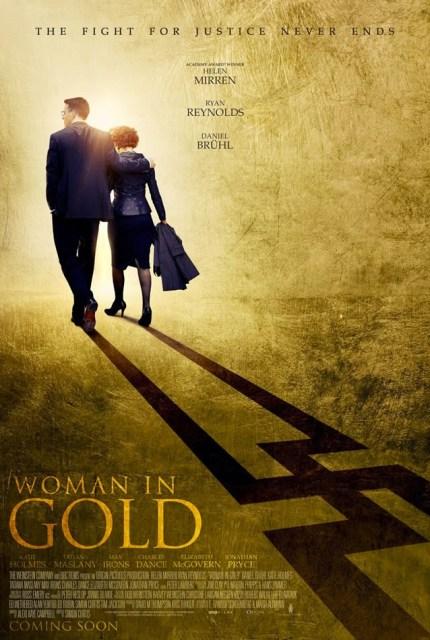 Póster y tráiler de 'Woman in gold', con Helen Mirren y Ryan Reynolds