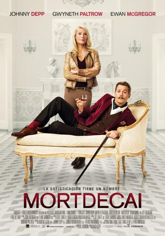 Pósters individuales, oficial y tráiler español de 'Mortdecai' con Johnny Depp, Paul Bettany, Gwyneth Paltrow y Ewan McGregor