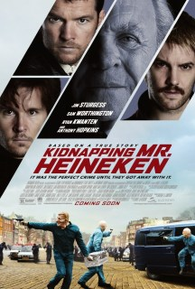 Pósters y tráiler de 'Kidnapping Mr. Heineken'