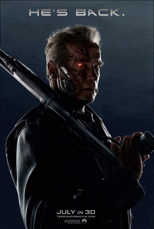 Arnold Schwarzenegger centra la atención del nuevo póster de 'Terminator Génesis'