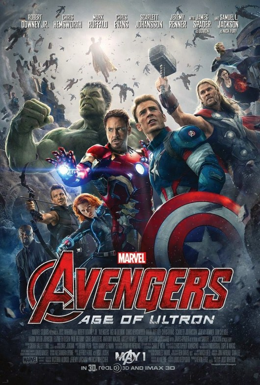 Nueva variante del póster de 'Vengadores: La era de Ultrón' con menos caos