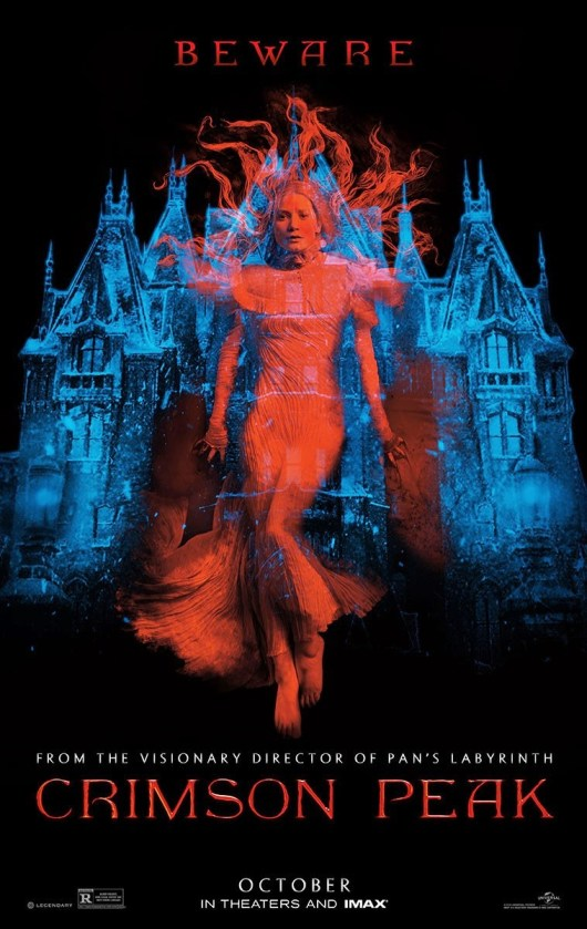 Nuevo póster de 'Crimson peak', de Guillermo del Toro