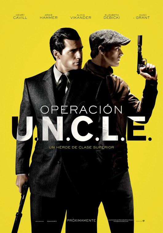 Póster y tráiler español de 'Operación U.N.C.L.E', adaptación de 'El agente de CIPOL'