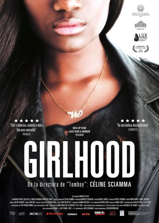 Póster y tráiler de 'Girlhood (Bande de Filles)', que llegará a España el 24 de abril