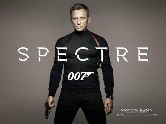 Teaser póster de 'Spectre' protagonizado por Daniel Craig