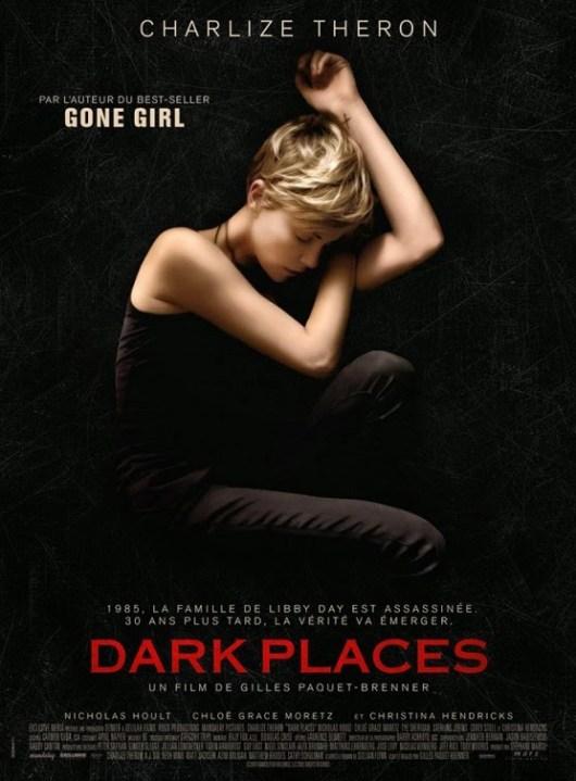 Charlize Theron protagonista del póster internacional de 'Dark places'