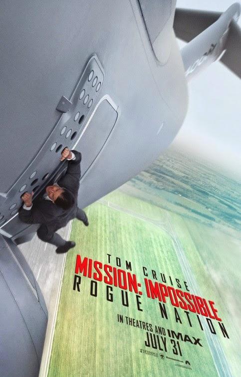 Revelado póster y téaser trailer de 'Mission: Impossible Rogue Nation'