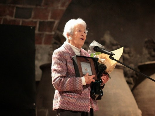 Asunción Balaguer recibió el premio Talamanca de cine