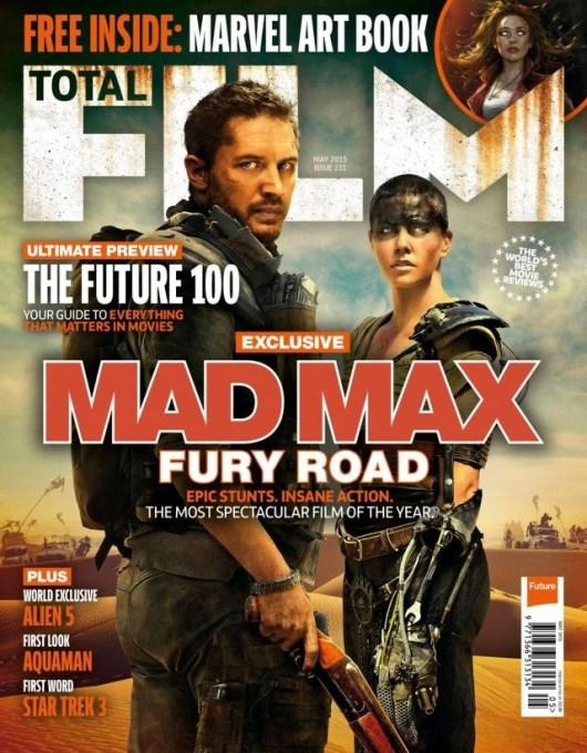 Nueva imagen de 'Mad Max: Furia en la carretera' en la portada de Total Film