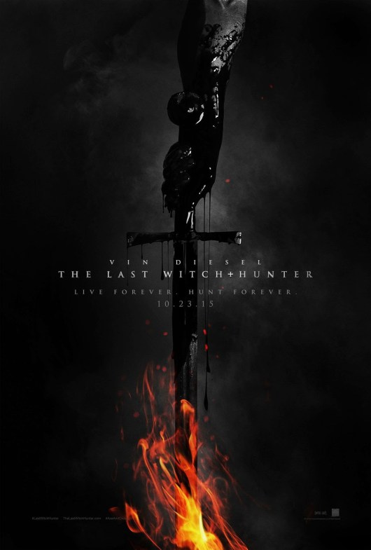 Póster y teaser tráiler de 'The Last Witch Hunter' con Vin Diesel