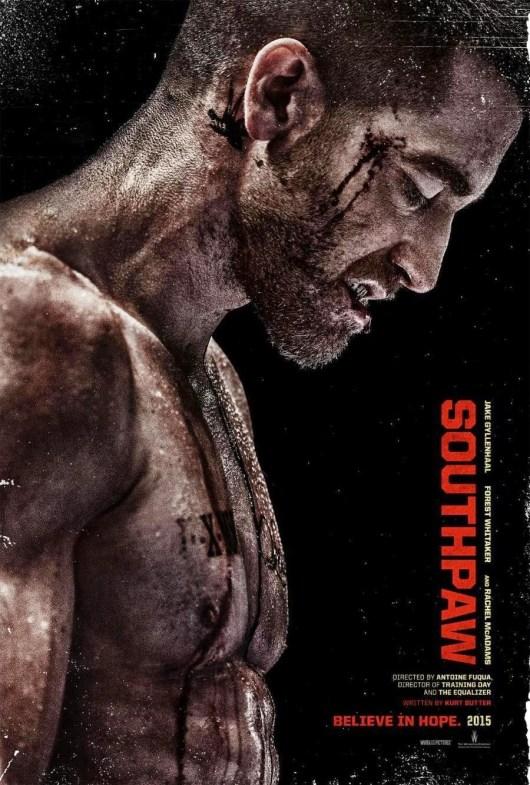 Nuevo póster de 'Southpaw', con un musculado Jake Gyllenhaal
